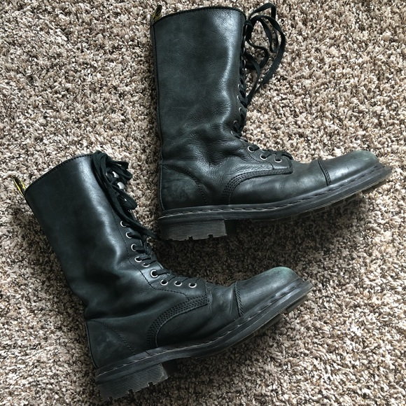 Dr Martens Genuine Soft Leather Combat